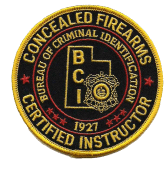certified concealed firearms instructor